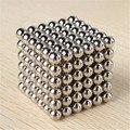 216 pcs 3mm de Neodímio Ímãs Magnéticos Bolas Esferas Contas Cubo Mágico Puzzle Brinquedo Engraçado Presente de Aniversário para Crianças