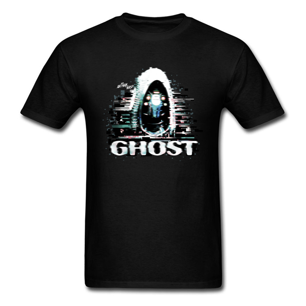 Evil Ghost T Shirt Slim Fit Tees Short Sleeve For Men Pure Cotton Valentine Day Round Neck Top T-Shirts Gift Tshirts Wholesale