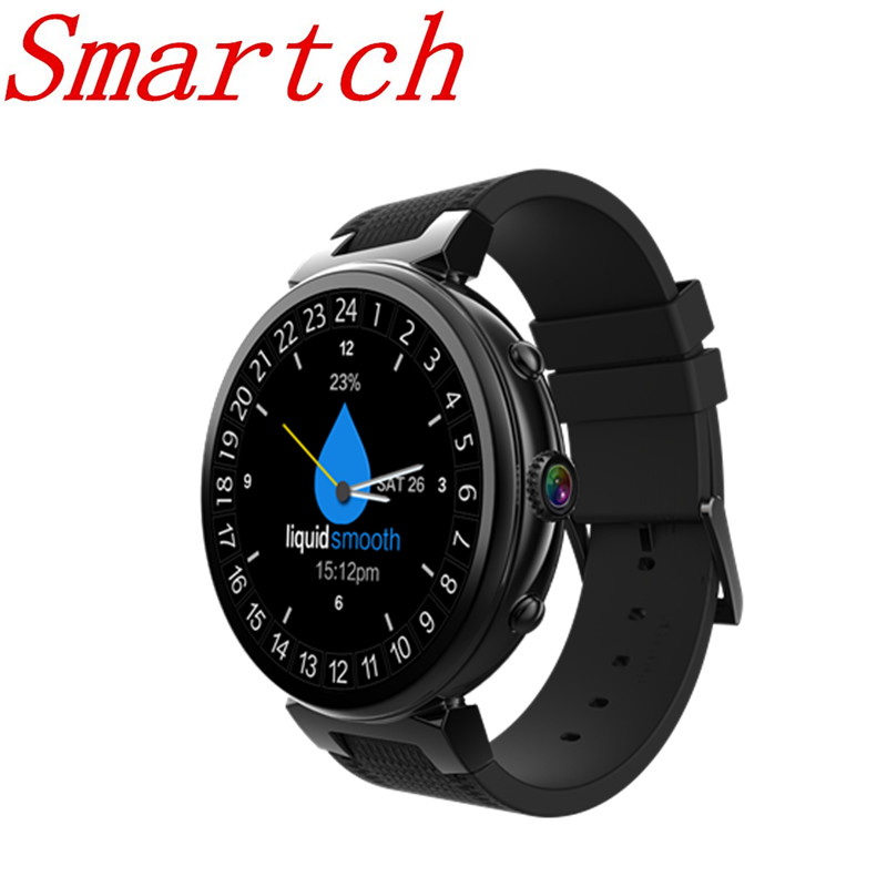 Smartch I6 Smart Watch Android 5.1 MTK6580 Quad Core RAM 2GB+ROM16GB Smartwatch Support 3G GPS WIFI Google Play Whatsapp Camera
