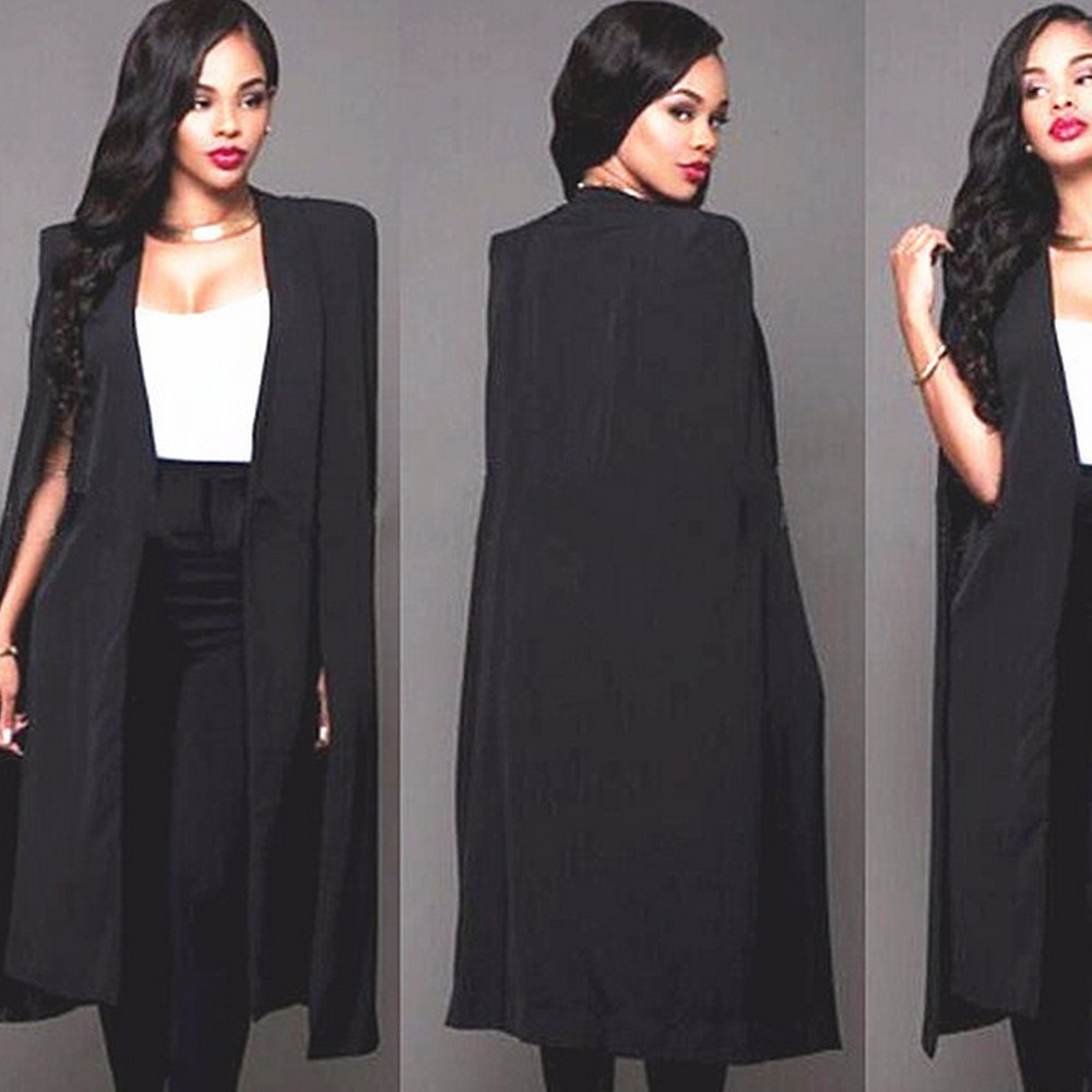Popular Long White Blazer Women-Buy Cheap Long White Blazer Women ...