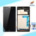 Replacement Parts for Sony Xperia Z3 L55T D6603 D6653 D6633 LCD Screen Display with Touch Digitizer Frame Assembly for Sony Z3