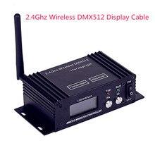 Eyourlife DMX512 беспроводной ЖК-Дисплей кабель передатчик приемник 2.4 ГГц XLR DJ Молнии Контроллер