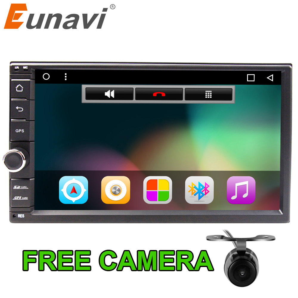 Eunavi Quad core 7 Universal multimedia 2 din Android 6 0 font b Car b font