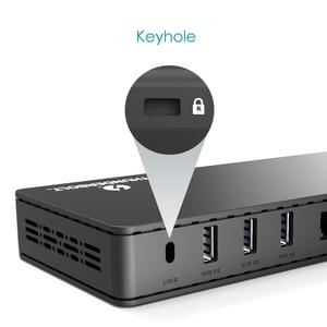 Image 4 - Wavlink Thunderbolt 3 Docking Station 4K@60Hz DisplayPort USB 3.0 85W charging Gigabit Ethernet for MacBook pro Intel Certified