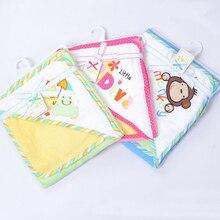 С капюшоном животных моделирование Детские халат/Детская мультяшная полотенце/Персонаж дети банный халат/Детские Банные полотенца+ махровое полотенце для новорожденного комплект вещи