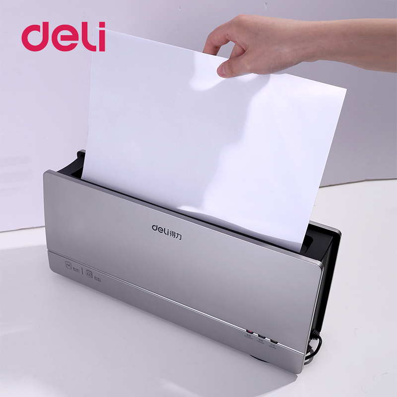 Deli 10PCS/PACK Thermal Binding Covers A4 Quickly And Easy