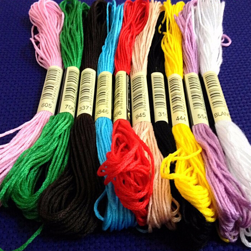 370 Anchor Cross Stitch Cotton Crochet Embroidery Thread Floss Skiens Choose Clr