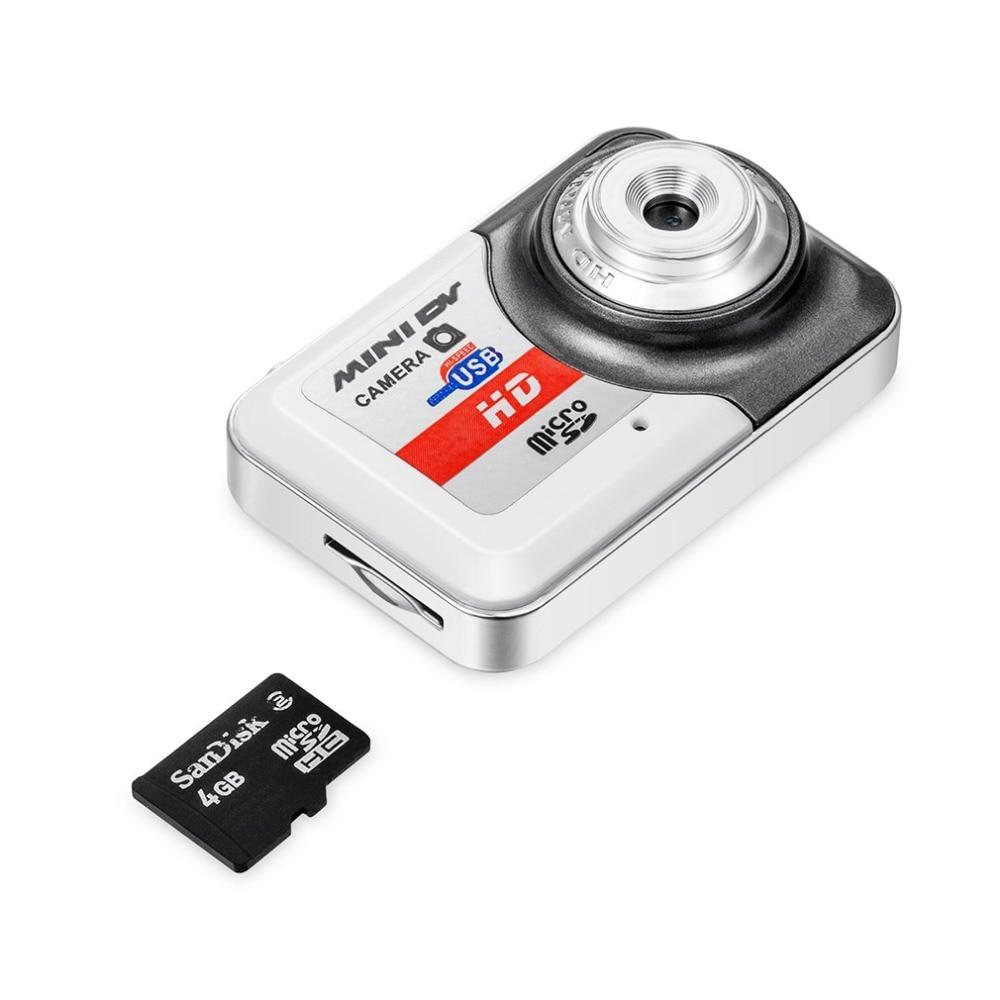 HD Ultra Portable 1280 Orange 1024 Mini Camera X6 Video Recorder Digital Small Cam Support TF Card Micro Secure Digital Memory Card