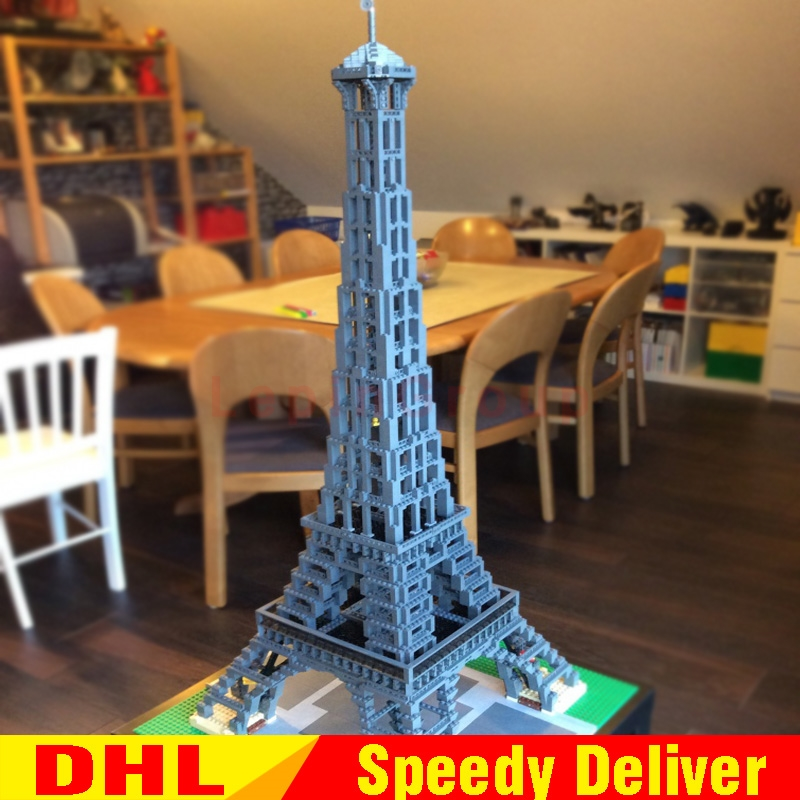 LEPIN 17002 3478pcs The Eiffel Tower Model Building Kits Set Brick legoings Toys Christmas Gift Clone 10181