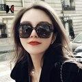 SHAUNA Pupolar Negro Señoras de La Manera Ahueca Hacia Fuera de Acero Inoxidable Marco de Las gafas de Sol Cuadradas Negro Gafas de Lentes UV400