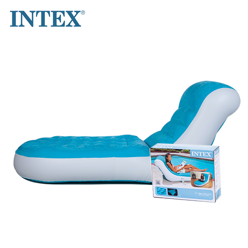 Brilliant Us 53 0 Intex 68880 84 170 81Cm Flocking Single Back Inflatable Sofa Lazy Lounge Chair With Electric Pump In Camping Mat From Sports Entertainment Onthecornerstone Fun Painted Chair Ideas Images Onthecornerstoneorg