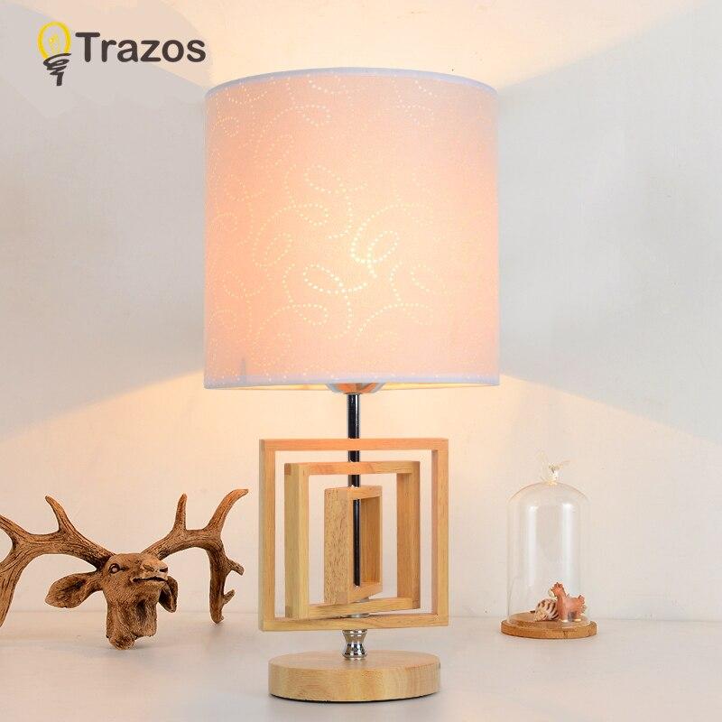 TRAZOS Юго-Восточной Азии настольные лампы для bedrrom abajur пункт кварто современный простой деко прикроватные лампы 220 В E27 dest lampara