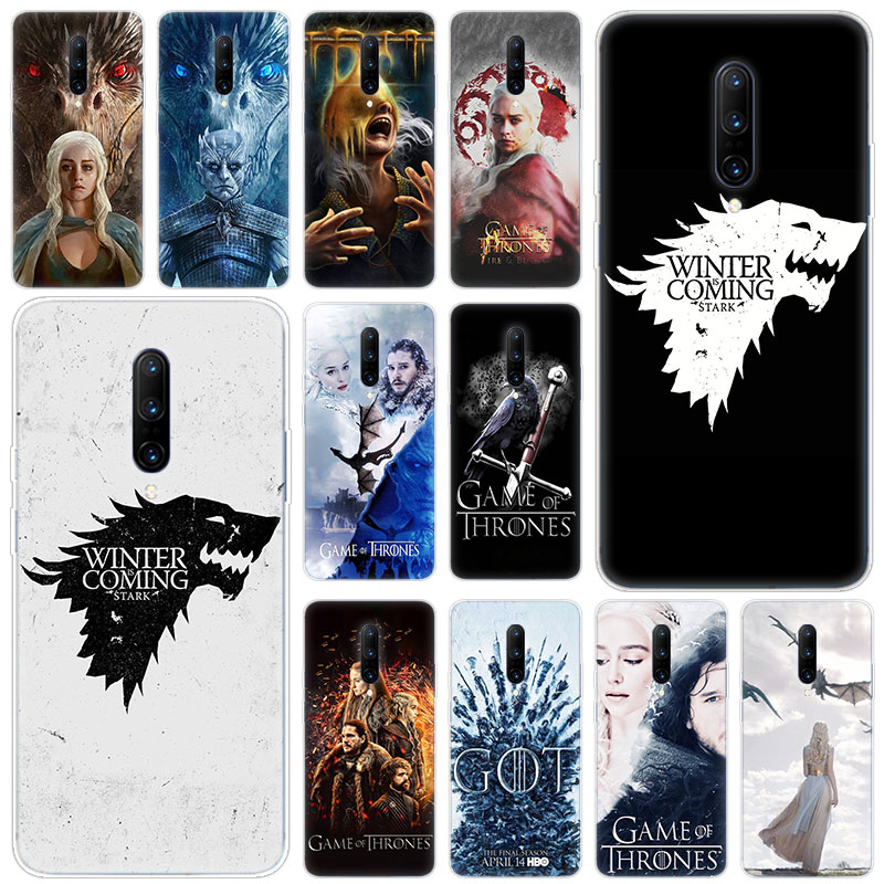 Hot game of Throne conquest Soft Silicone Fashion Transparent Case For font b OnePlus b font