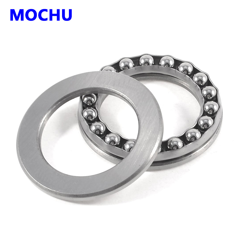 1pcs 51318 8318 90x155x50 Thrust ball bearings Axial deep groove ball bearings MOCHU Thrust  bearing 1pcs 71901 71901cd p4 7901 12x24x6 mochu thin walled miniature angular contact bearings speed spindle bearings cnc abec 7