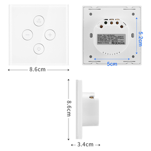 Image 4 - EU Plug Smart WiFi switch for Fan light Compatible with Alexa Google Home Smart Life App Control No Hub Required
