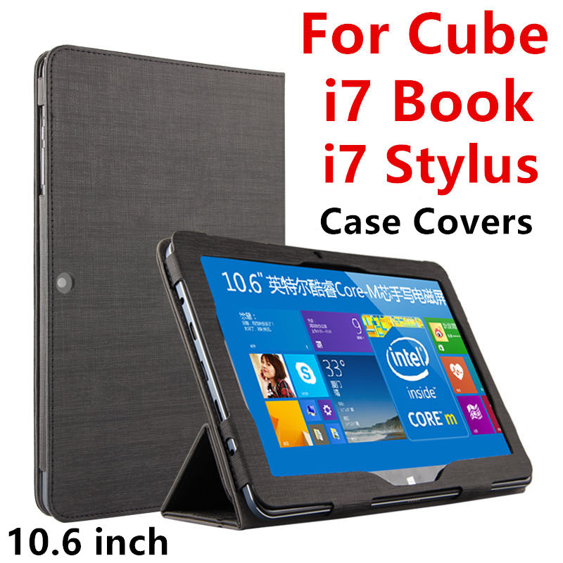 Case For Cube i7 book Protective Smart cover Protector Leather Tablet PC For CUBE Iwork i7 stylus PU Sleeve 10.6inch Cases Cover original pu case cover for 7 9 inch fnf ifive mini 4s tablet pc cover smart