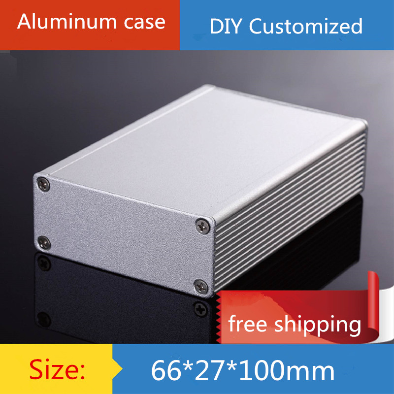 WA110 Full aluminum chassis Preamplifier enclosure Amplifier case 208*116*50
