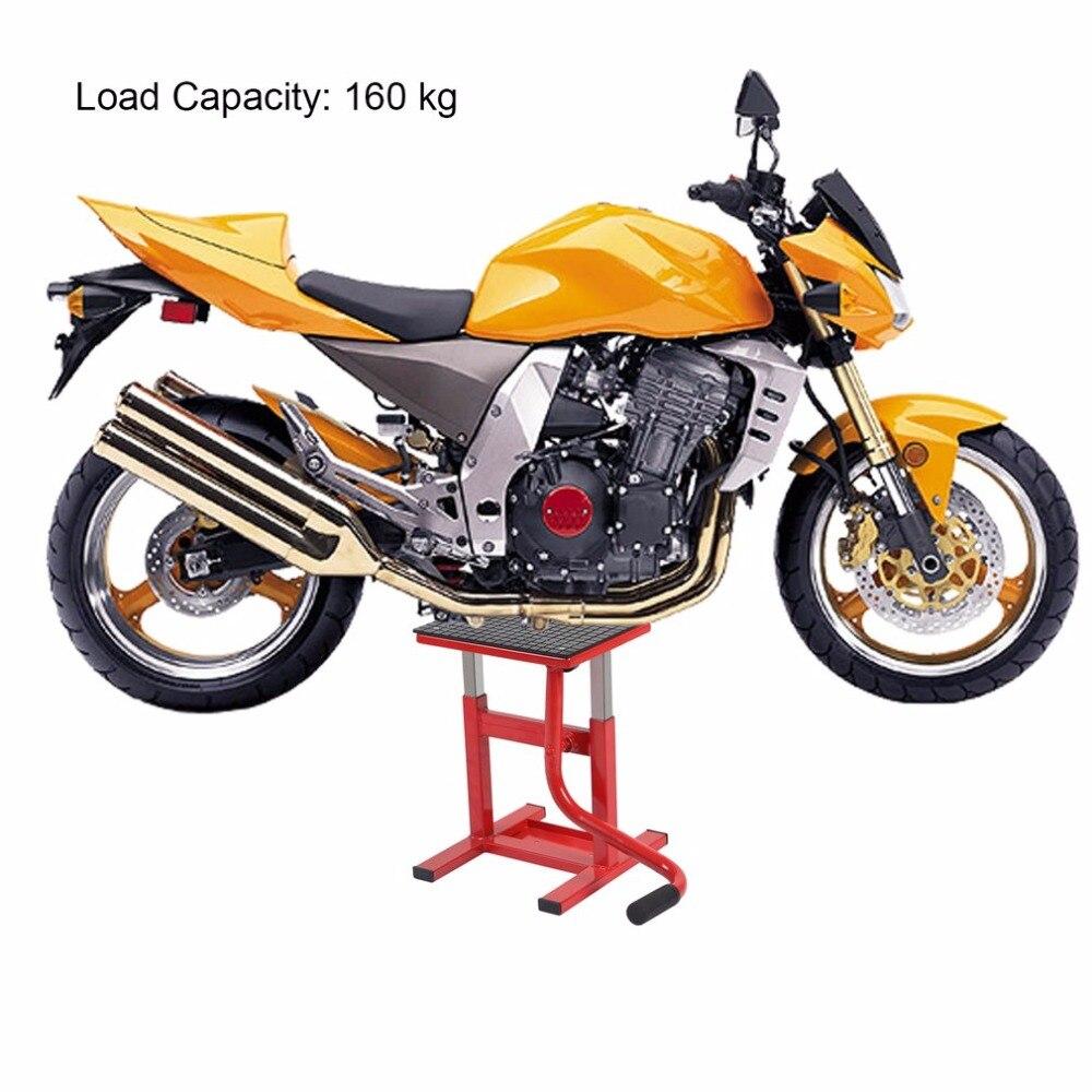 Réglable Motocross Sentiers Dirt Bike Lift Stand Vélos Large Pont De Moto Ascenseur Jack Palan Stand Vélos Vtt Garage Boutique Stand