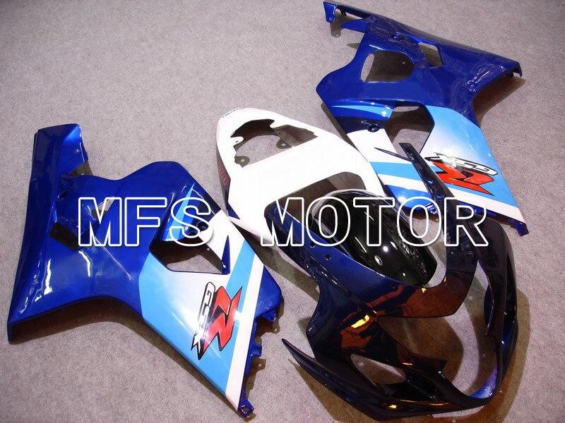 Для Suzuki системы GSX-Р 600/750 2004-2005 К4 инъекции Зализа ABS - другие - синий/белый