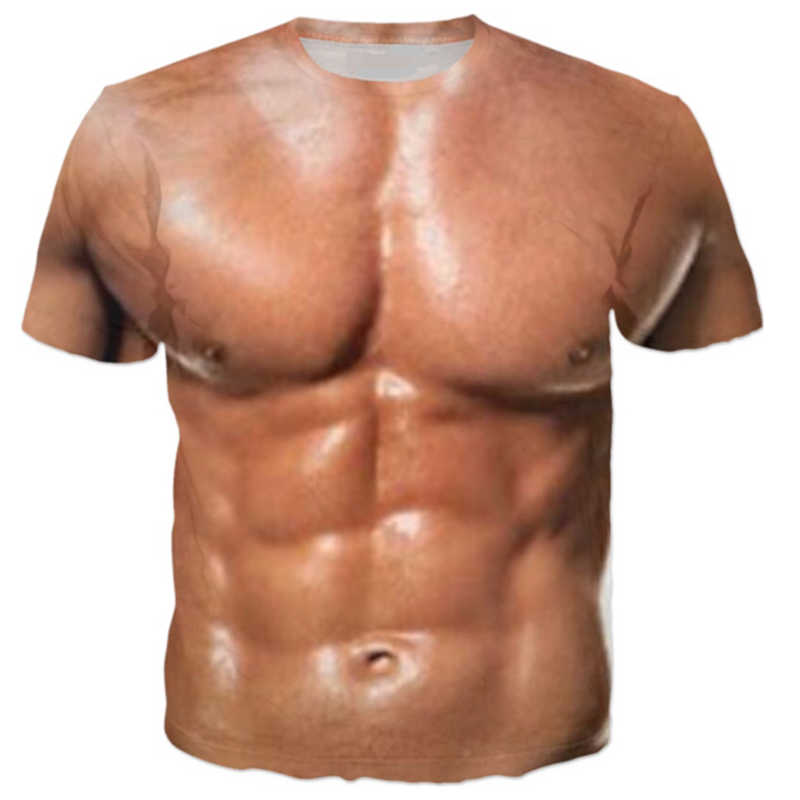 新ファッションカップルの男性の女性筋肉おかしい 3D プリントカジュアルなしキャップ夏 Tシャツトップス