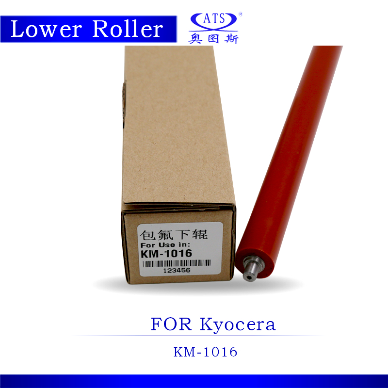 1PCS KM1016 Pressure Roller Photocopy Machine Lower Fuser Roller For KM 1016 Copier Parts with high quality 1pcs photocopy machine lower pressure fuser roller for canon ir2018 copier parts ir 2018