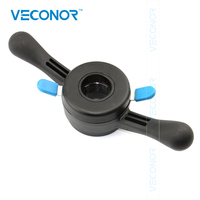 VECONOR Quick Nut Fast Locking Nut Wing Nut For Car Wheel Balancer Shaft Size 36mm 38mm