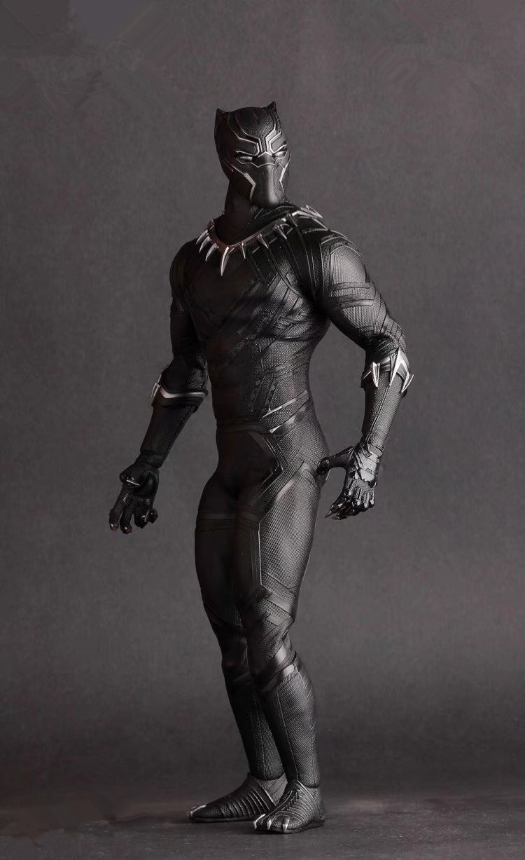 The Avengers Figure Black Panther 1/6 Scale PVC Action Figure Collectible Model 28cm Marvel Legends Panther StatueThe Avengers Figure Black Panther 1/6 Scale PVC Action Figure Collectible Model 28cm Marvel Legends Panther Statue