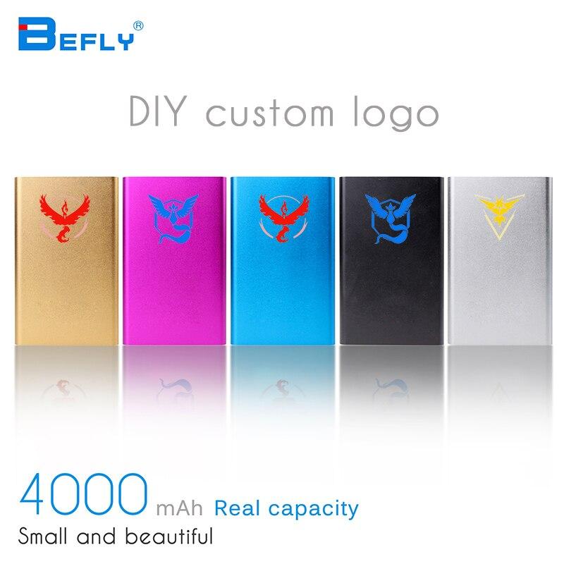 Befly 1PC New 2016 Original 4000mAh Pokemon Go Ball Portable Mobile Powerbank external font b Battery