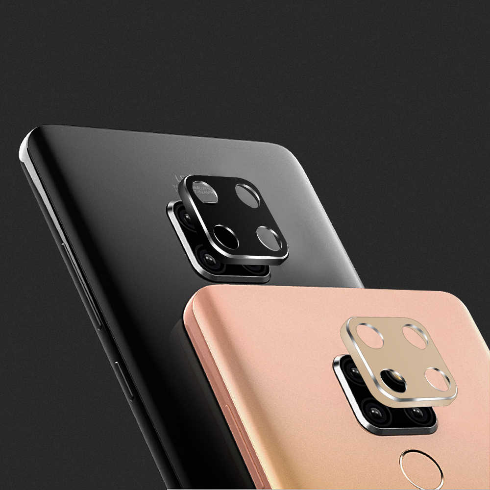 PORTEFEUILLE Coque Metal Aluminum Camera Lens Screen Protector Cover Film For HUAWEI Mate 20 X P30 P20 Lite Pro Psmart 2019 case