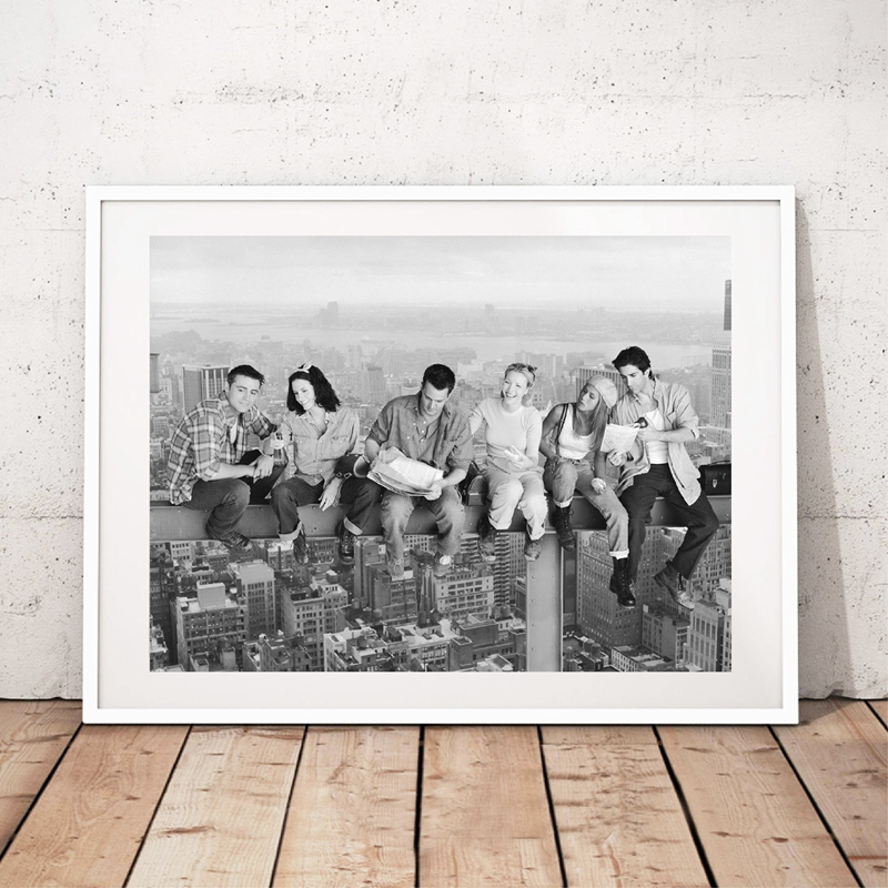 Friends Tv Show Posters Wall Art Prints Friends Tv New York