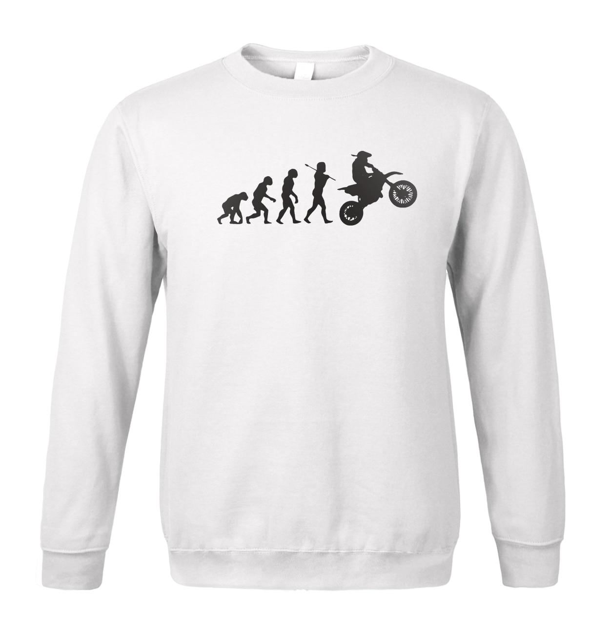 2019 spring winter fleece sweatshirts Evolution Motocross Sweatshirt Dirtbike hoody car-styling men's sportswear brand-clothing