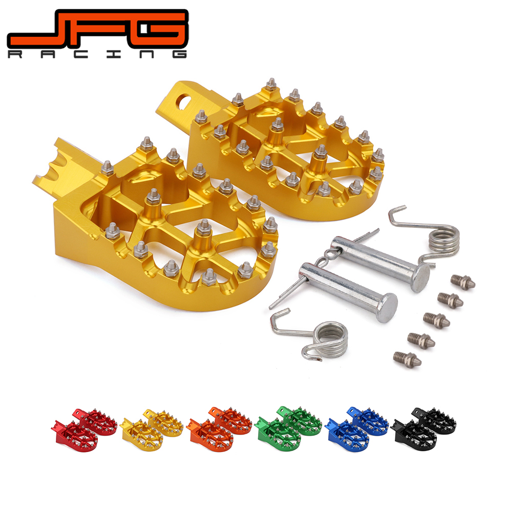 Image 3 - Motorcycle Universal CNC Colorful Footpeg Footrest Foot Pegs For HONDA CRF XR 50 70 110 M2R SDG DHZ SSR KAYO Pit Bike-in Foot Rests from Automobiles & Motorcycles