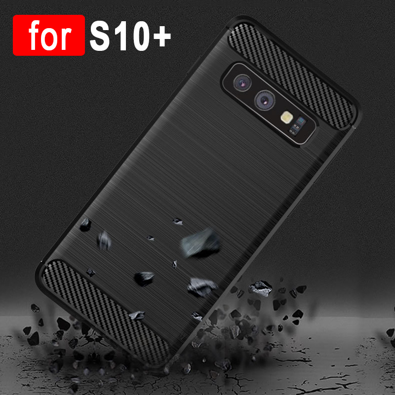 S10 Plus Case For Samsung Galaxy S10 Cases Ultra Thin Shockproof Soft Silicone Cover for Coque Galaxy S10 Plus S10E S 10 Case