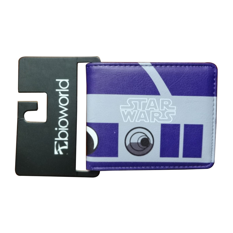 Classic Purse Star Wars Wallets PU Leather Card Holder Bags for Young Creative Gift Dollar Price Animation Folded Short Wallet