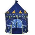 2 Цвета Играют Палатка Портативный Складная Типи Принц Складной Шатер дети Мальчик Замок Кабби Играть Дома Дети Подарки На Открытом Воздухе Игрушки палатки
