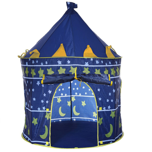 2 Colors Play Tent Portable Foldable Tipi Prince Folding Tent Children Boy Castle Cubby Play House  sc 1 st  AliExpress.com & Aliexpress.com : Buy 2 Colors Play Tent Portable Foldable Tipi ...
