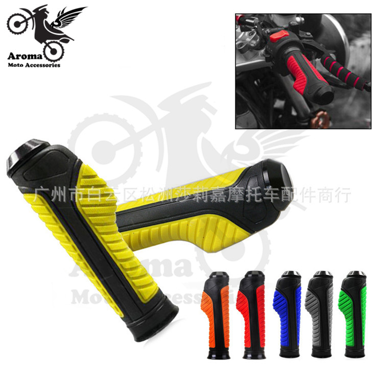 6 colors available scooter motorcycle handle bar moto hand grips ATV Off-road for KTM dirt pit bike handelbar motocross grips