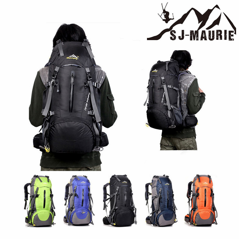 Sac de randonnée 50L sac à dos extérieur voyage multi-usages randonnée Camping escalade sacs à dos randonnée grande capacité sacs de sport