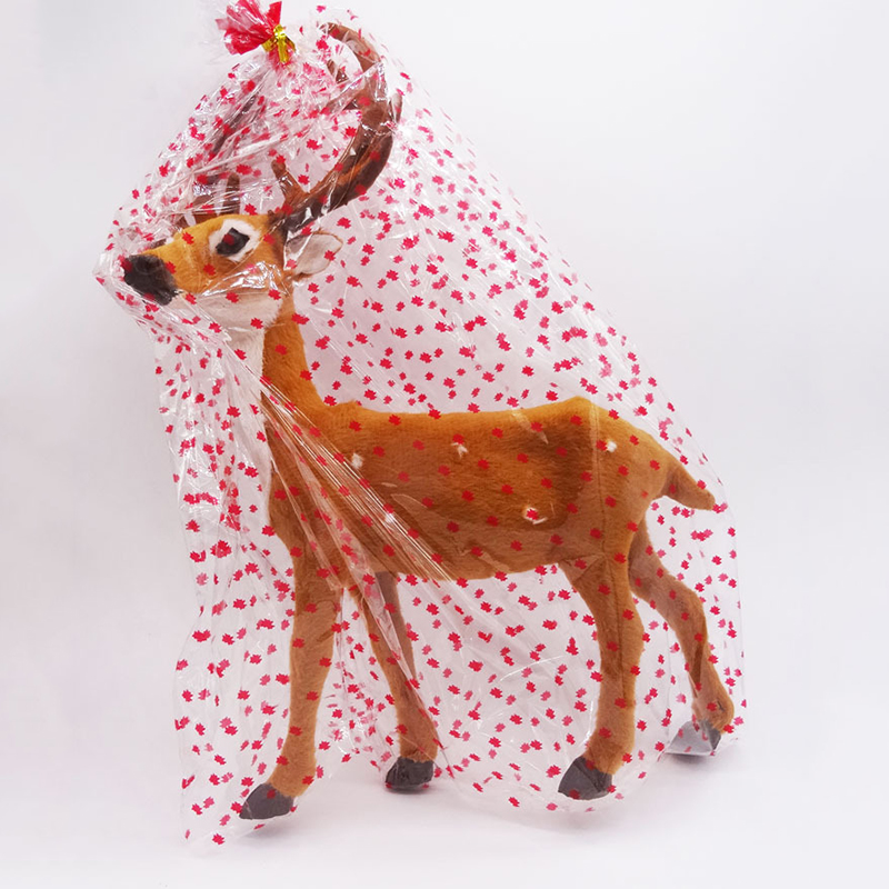 Christmas Reindeer Imitation Elk Doll Xmas Shop Window Home Party Decor Ornament Hanging Christmas Tree Decoration Craft