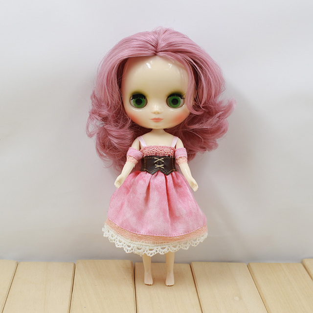 Clothes For Middle Blyth Pink Dress 4 Pieces