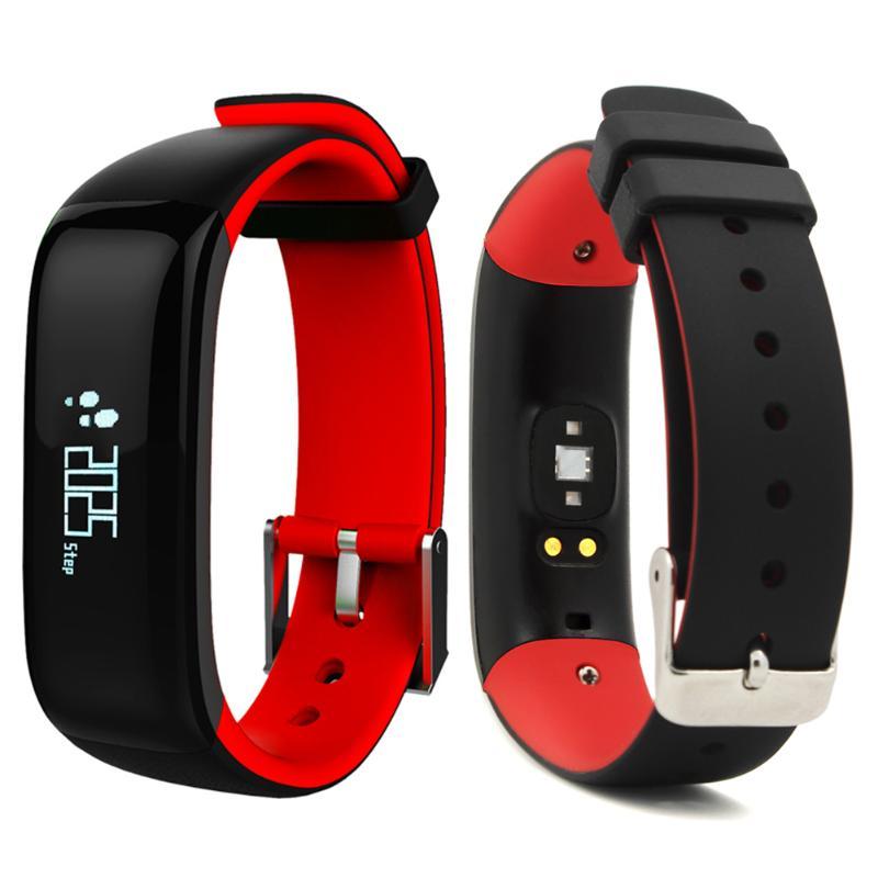 Étanche IP67 Bluetooth bande intelligente Bracelet montre tension artérielle santé sommeil moniteur moniteur de fréquence cardiaque Bracelet - 4