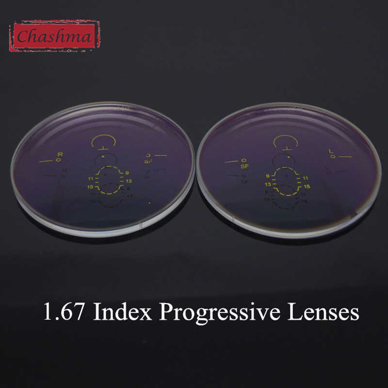 6f2de76e34 Chashma Anti UV Anti Radiation Aspheric 1.67 Thin Index Free Form Wide  Field Verifocal Lenses Interior