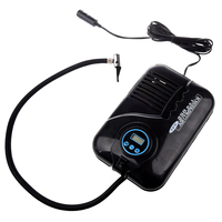Black Digital Portable Electronic Tyre Air Compressor 12V Car Tire Inflator Digital Tyre Inflating Pump 250PSI