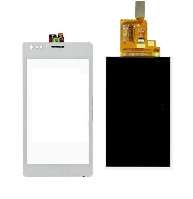sony c1905 touch and lcd white