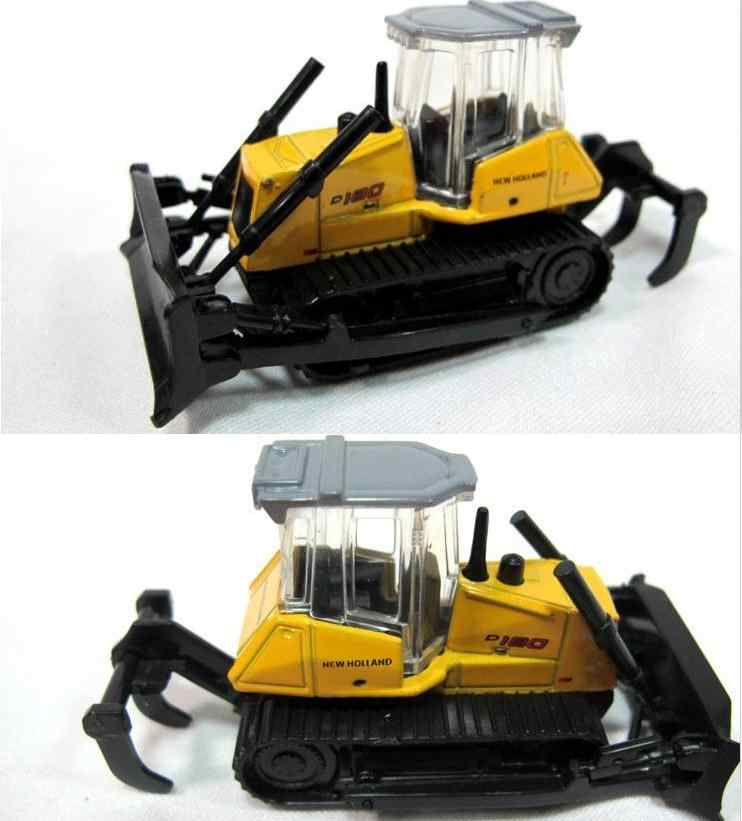 1:87 alloy car model, high simulation Engineering vehicles,Bulldozers,forklifts,excavators metal car model, free shipping