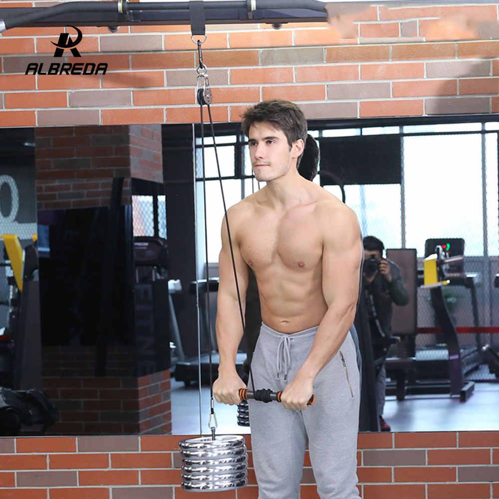 Albreda Pols Onderarm Gym Workout Arm Katrol Halter Accessoires Oefening Body Building Krachttraining Fitness Apparatuur