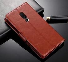 Leather Case for Mei zu 15 Lite Premium Wallet Flip Protective Meiz u Plus 4G LTE 6GB 64GB/128GB