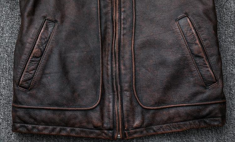 HTB1TQwzE41YBuNjy1zcq6zNcXXaF MAPLESTEED Brand Amekaji Motor Biker Style Men Leather Jacket Black Red Brown Cowhide Vintage Jackets Men Winter Coat 5XL M100