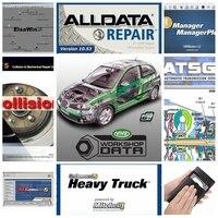 New 26 Alldata software programs V10.53 auto repair mitchell ondemand vivid workshop automotive car diagnostic tool professional