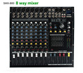 8Channel Mixing Console 8-Input KTV band effect professional mesa Audio Mixer karaoke  smx800
